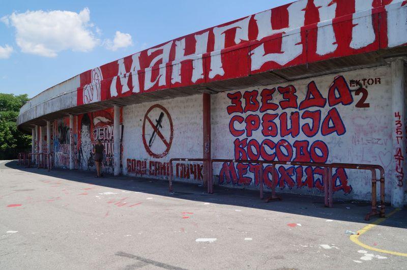 Marakana, czyli stadion klubu Crvena Zvezda w Belgradzie
