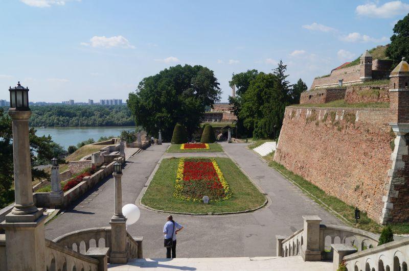 Twierdza Kalemegdan w Belgradzie