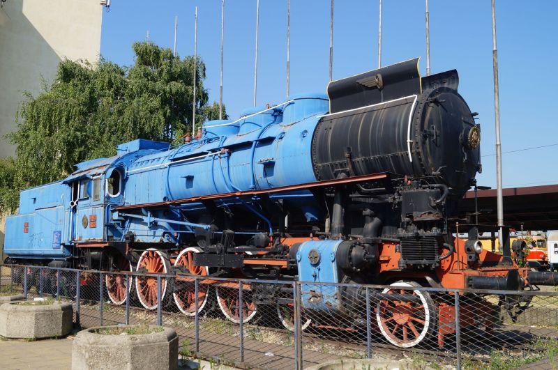 Parowóz, który niegdyś ciągnął niebieski pociąg (zwany po serbsku Plavi) z Josipem Brozem Tito na pokładzie.