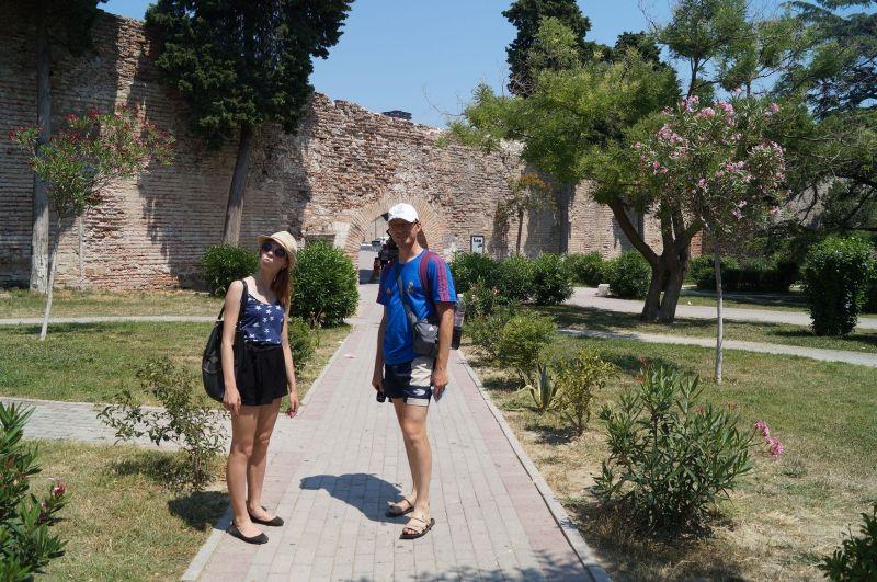 Mury obronne w Durres