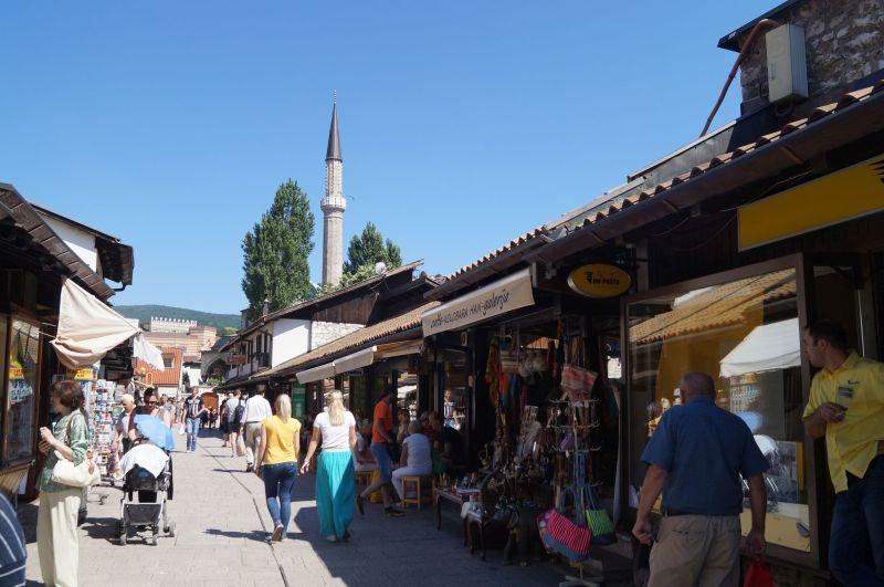 Bascarsija - główny rynek Sarajewa