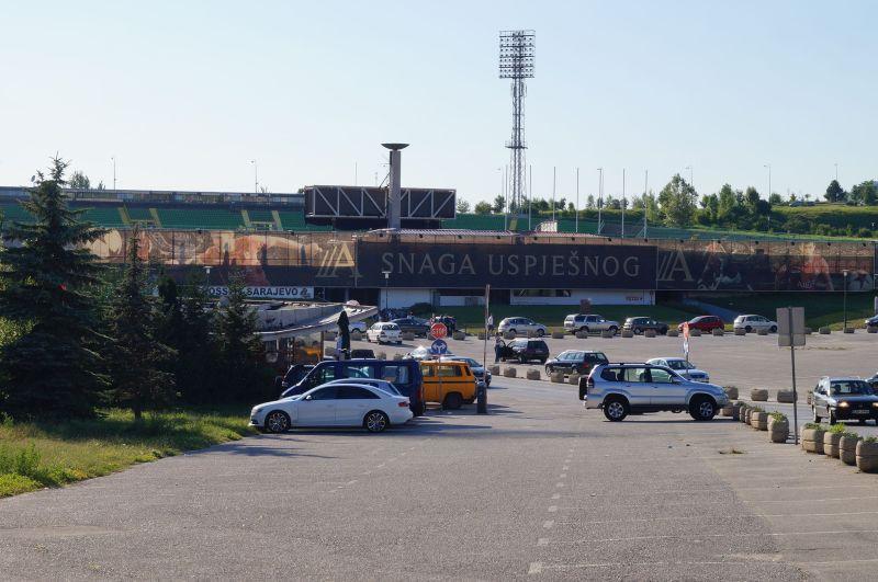 Stadion w Sarajewie