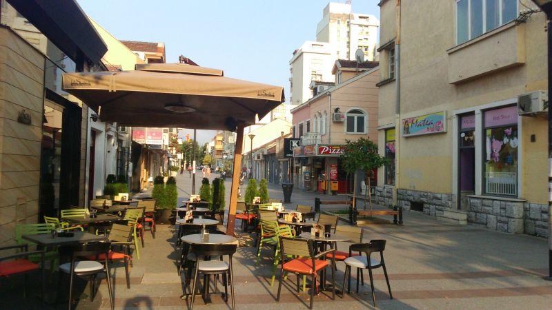 Ulica Hercegovačka - podgoricki deptak