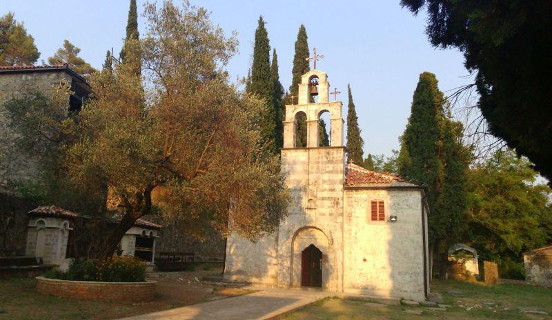Kościół Św. Jerzego - najstarszy i najładniejszy kościół w Podgoricy