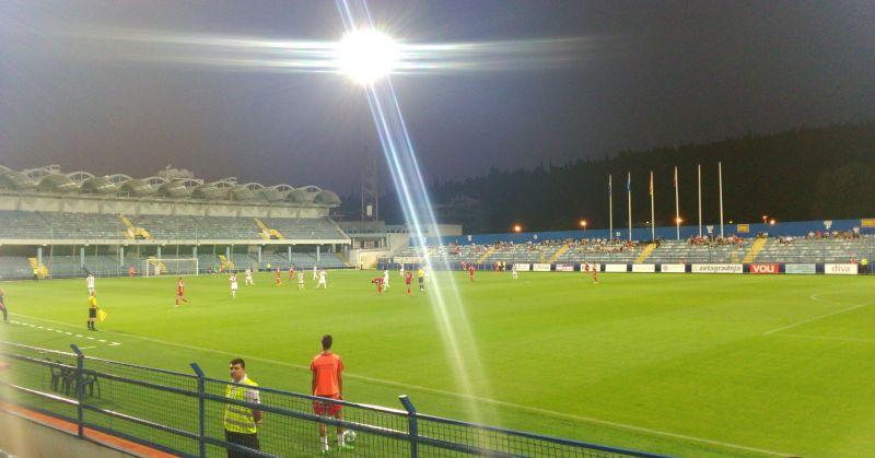 Stadion piłkarski w Podgoricy