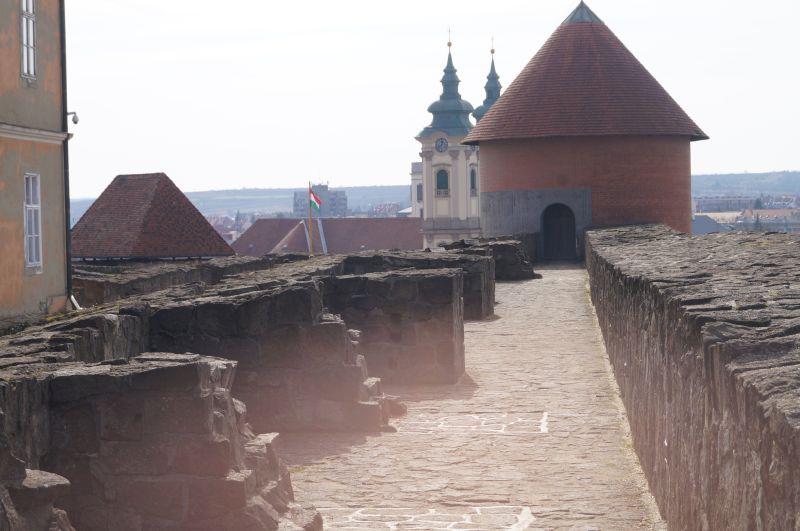 Na zamku w Egerze