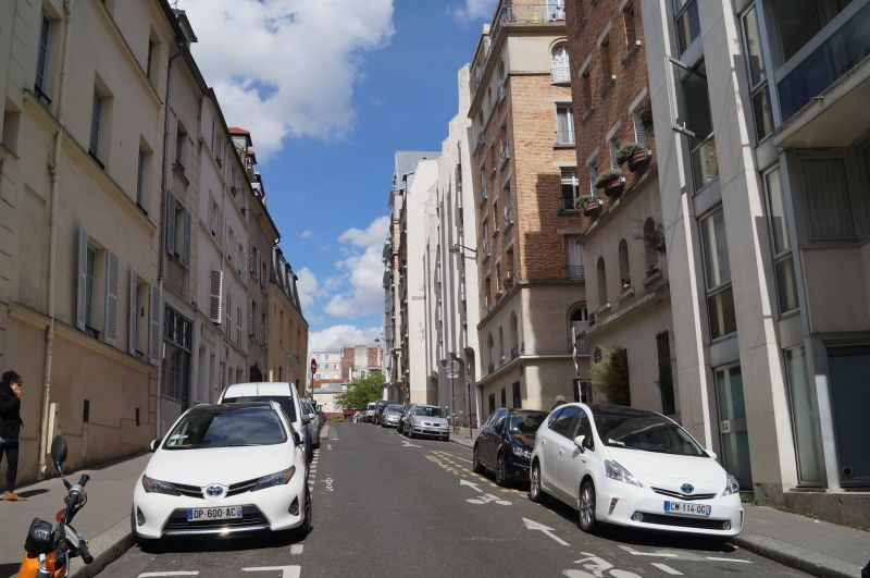 Rue Lhomond obecnie