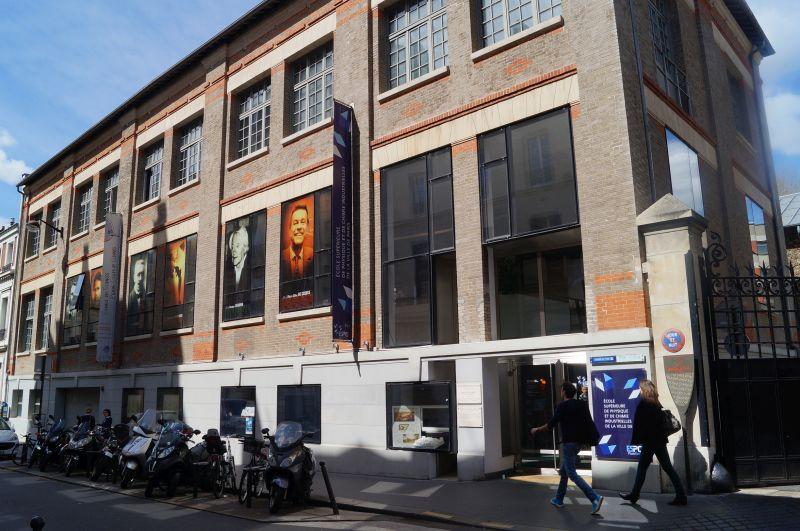 Wyższa Szkoła Fizyki iChemii Przemysłowej Miasta Paryża, gdzie wykładał Piotr – czasy teraźniejsze, Rue Vauquelin