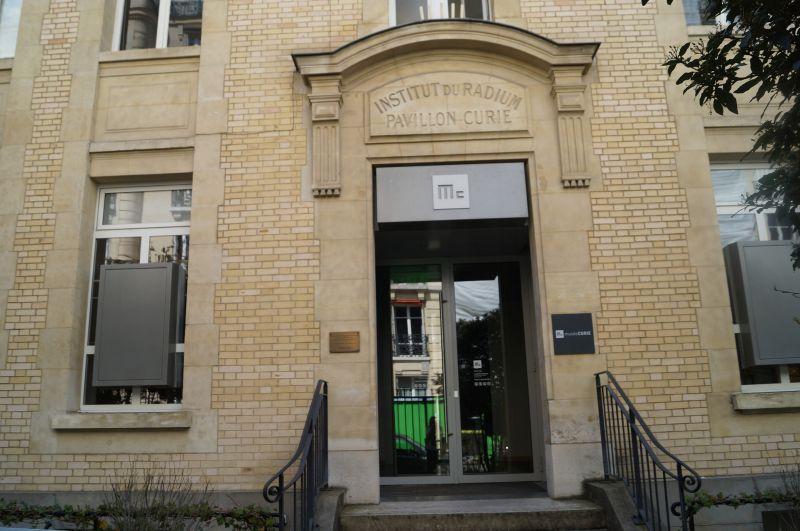 Instytut Radowy przy Rue Pierre-et-Marie-Curie