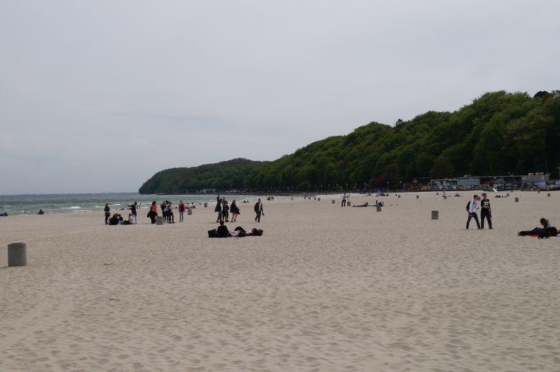 Gdyńska plaża wŚródmieściu