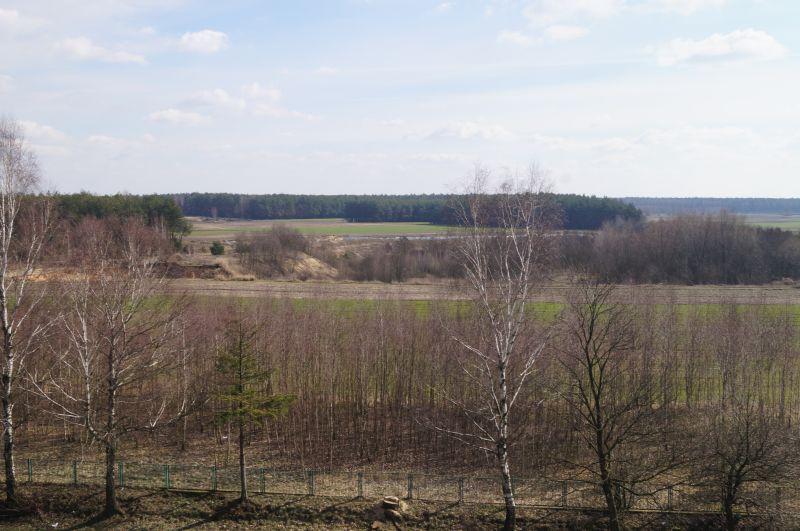 Podlasie - widok z Kopca Henryka Sienkiewicza w Okrzei
