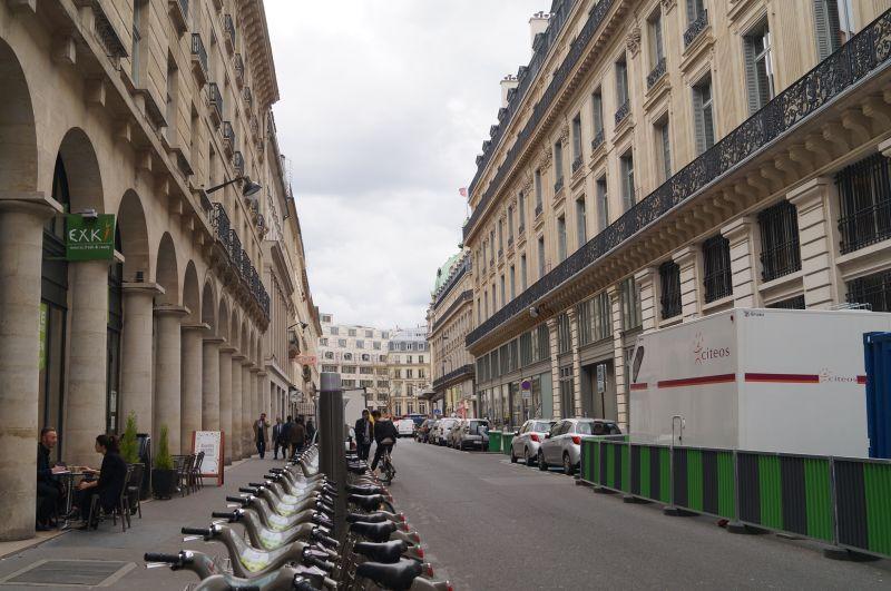 Rue de la Chaussée d'Antin obecnie