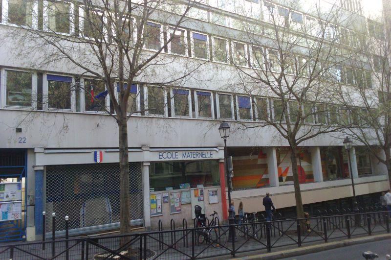 W miejscu Sali Pleyela przy Rue Rochechouart teraz mieści się przedszkole