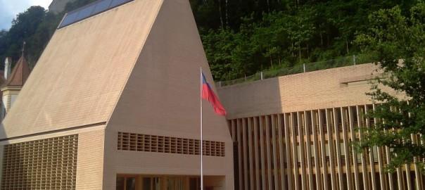 Budynek parlamentu Liechtensteinu w Vaduz