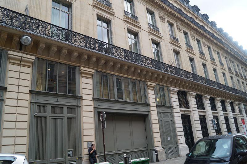 Budynek nr5 przy Rue de la Chaussée d'Antin