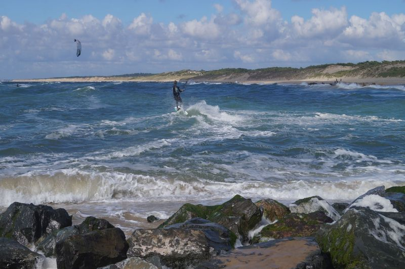 Raj dla kitesurferów