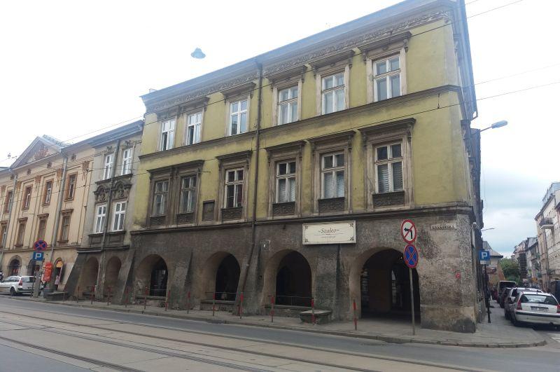 W tym domu przy Krakowskiej 9 urodził się Leopold Infeld