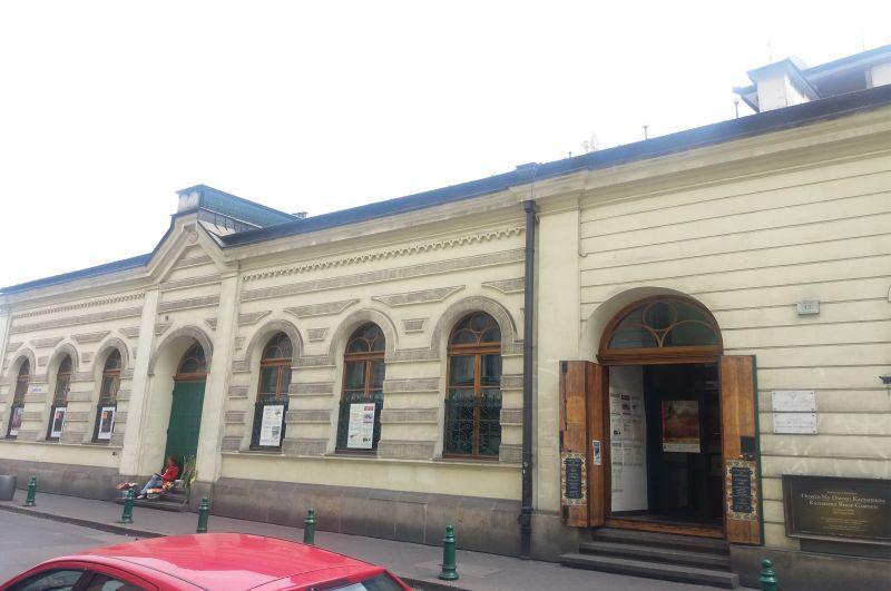 Centrum Kultury Żydowskiej, była synagoga Bne Emuna przy ulicy Meiselsa 17