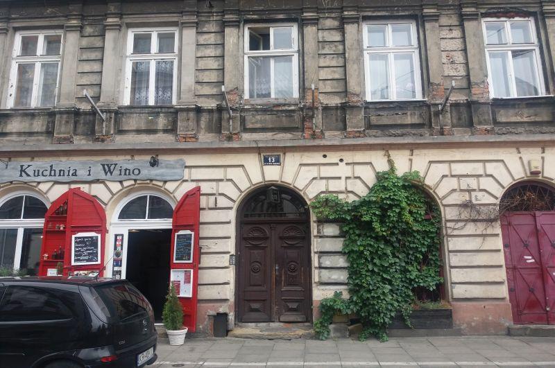 Józefa 13 na Kazimierzu, tu znajdował się późniejszy dom i sklep ojca Heleny Rubinstein