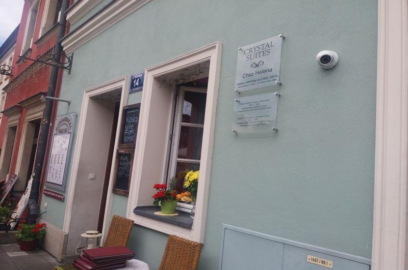 Dom rodzinny Heleny Rubinstein, założycielki światowej marki kosmetycznej przy ulicy Szerokiej 14