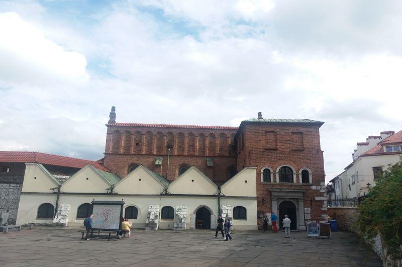 Stara Synagoga przy ulicy Szerokiej 24