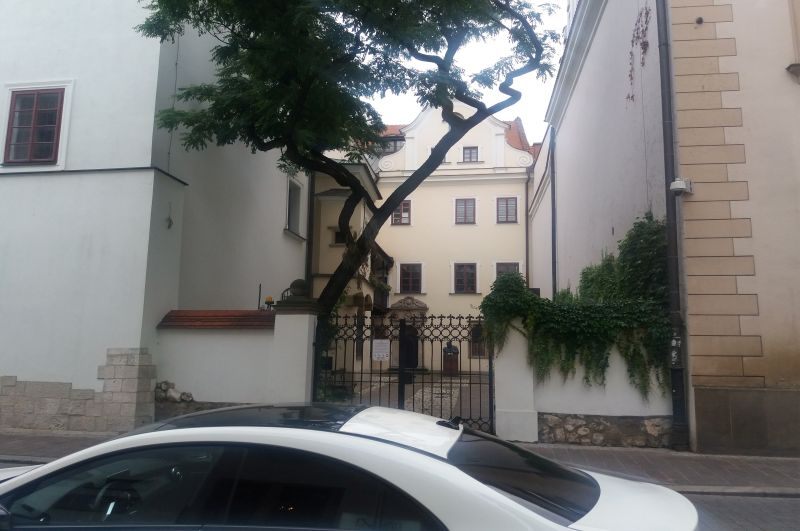 Ul. Św. Anny, podwórko Collegium Medicum Uniwersytetu Jagiellońskiego