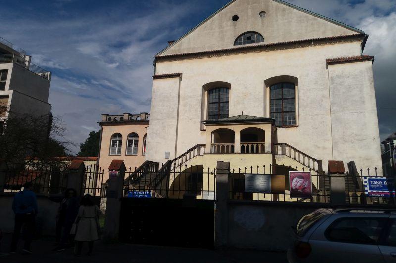 Synagoga Izaaka przy ulicy Kupa 18