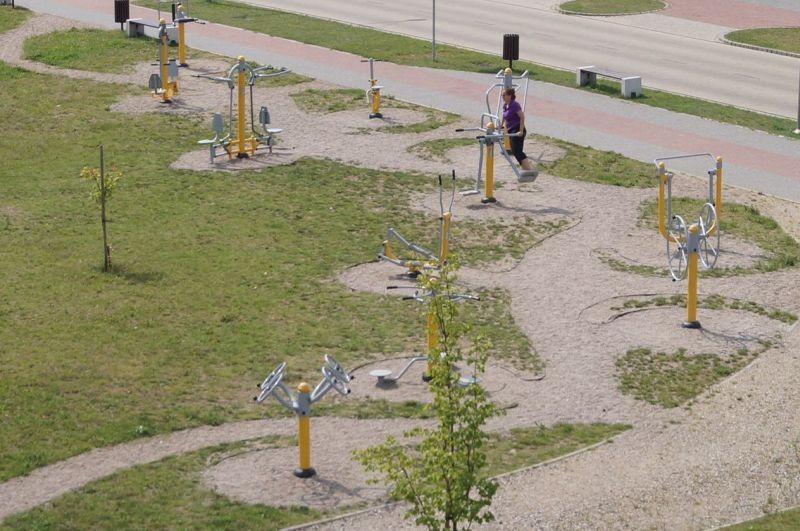 Park kinezyterapii, czyli siłownia na świeżym powietrzu
