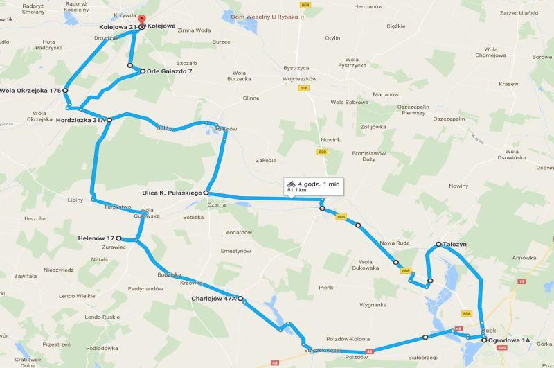mapa kock