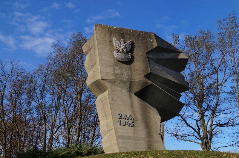 Nowy pomnik upamiętniający udział Polaków w bitwie pod Budziszynem, która rozgrywała się m.in. w Chróścicy (niem. Crostwitz)