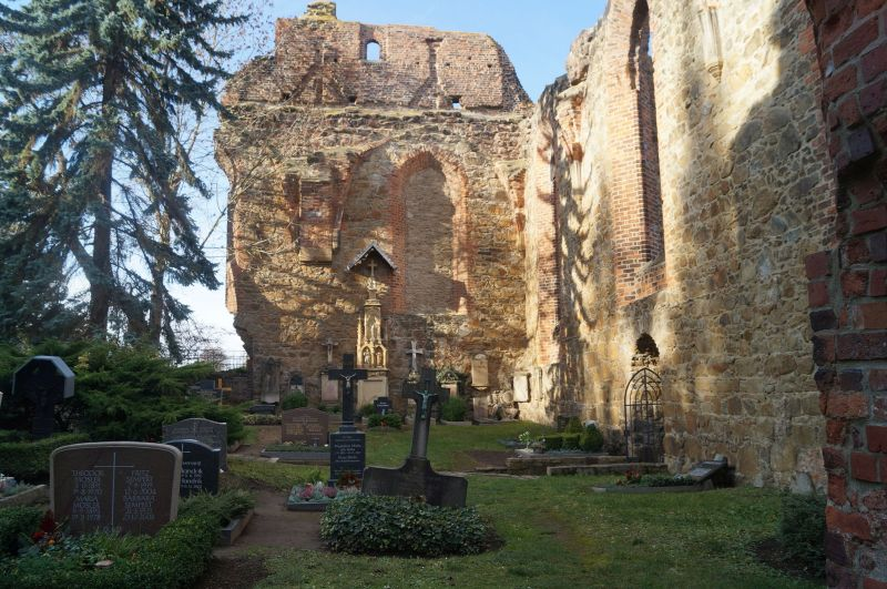 Ruiny kościoła św. Mikołaja w Budyšinie (niem. Bautzen)
