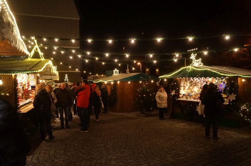 Słynny Kugelmarkt w Lauschy