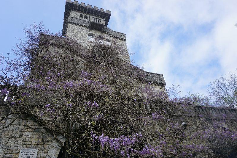 Wieża na górze Achun