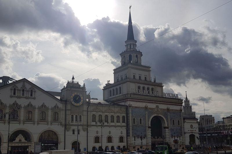 Dworzec Kazański wMoskwie