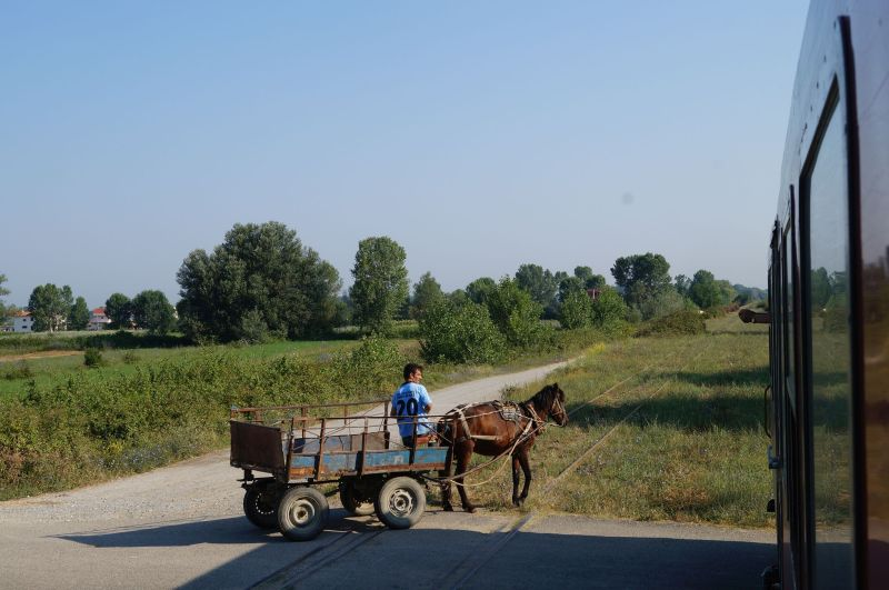 Mijane po drodze albańskie krajobrazy