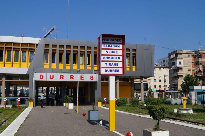 Stacja kolejowa w Durres
