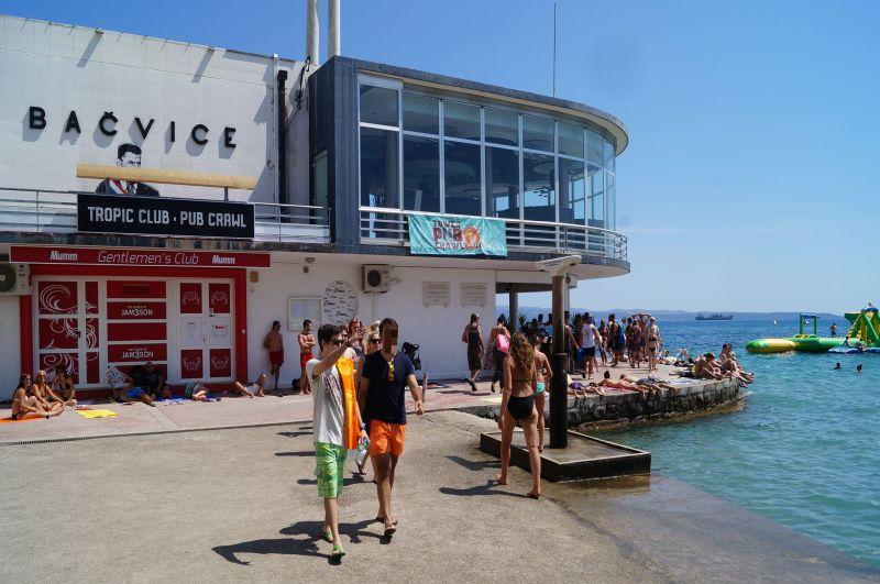 Bačvice - najstarsze kąpielisko miejskie w Splicie
