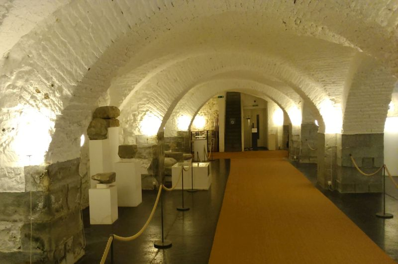 Lapidarium biblioteki wSt Gallen