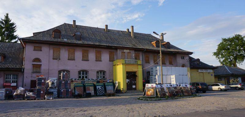Tak obecnie wygląda dworzec kolejowy wGołdapi