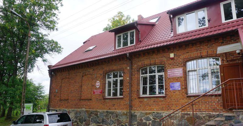 Budynek dyrekcji Parku Krajobrazowego Puszczy Rominckiej