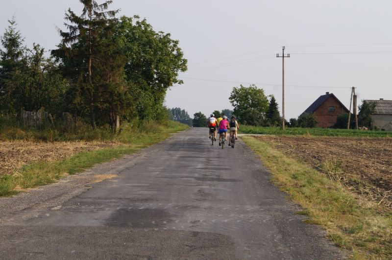 Trasa rowerowa dookoła Gopła