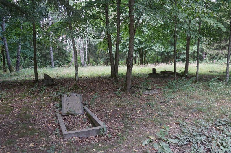 Po wsi Przerośl pozostał tylkomały cmentarz