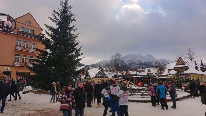 Ulica Krupówki - centrum rozrywki dla turystów