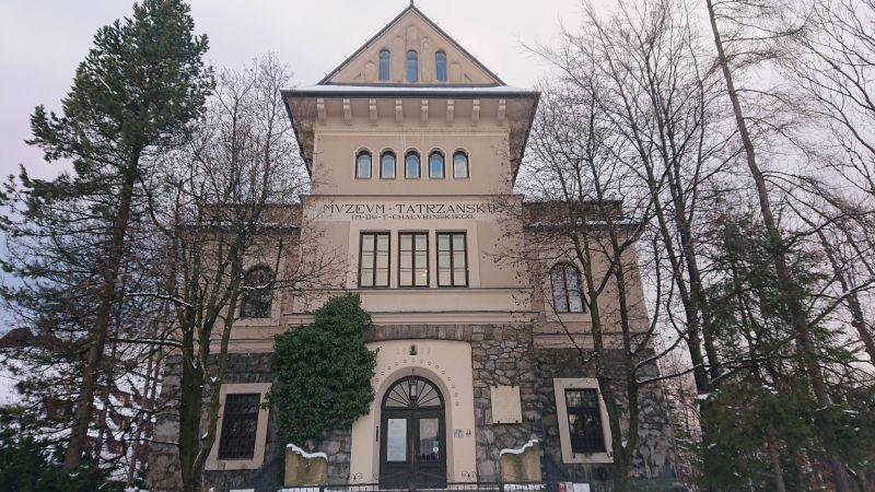 Muzeum Tatrzańskie nosi imię odkrywcy Tatr, dr. Tytusa Chałubińskiego