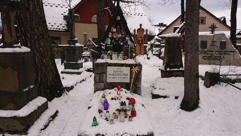 Na cmentarzu naPęksowym Brzyzku spoczywają osoby zasłużone dla Zakopanego