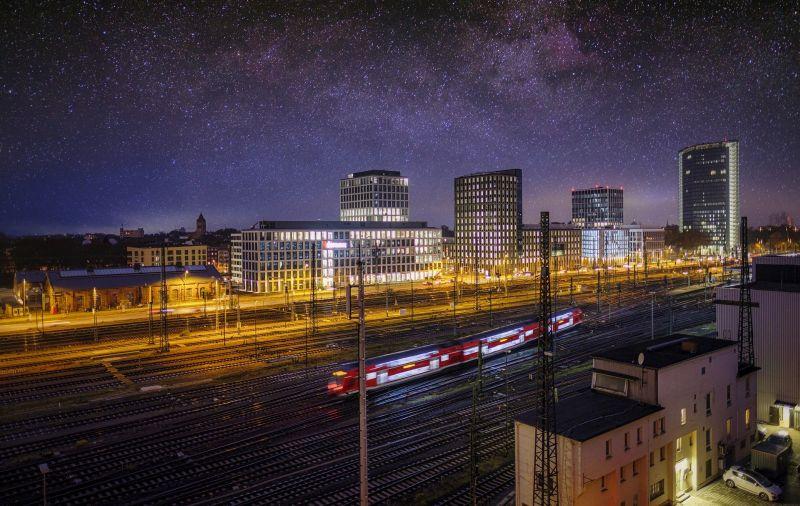 Pociąg nocą