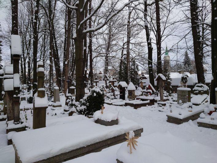 Cmentarz naPęksowym Brzyzku wZakopanem