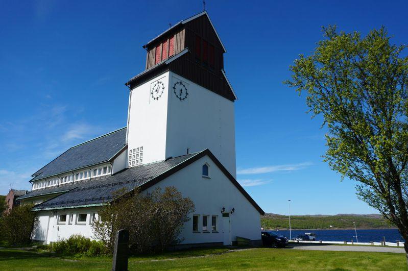 W Kirkenes można zobaczyć odbudowany zabytkowy kościół