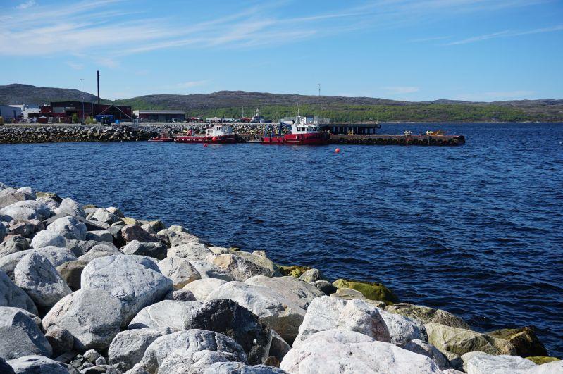 W Kirkenes można zobaczyć port