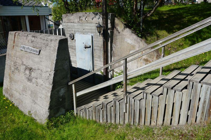 W Kirkenes można zobaczyć schron Andersgrotta